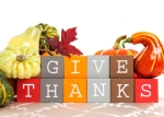 give thanks for Thanksgiving foods!